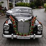 Autoschmuck Hochzeit